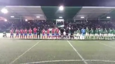 El Álamo se estrena en la Copa... poniendo el himno franquista