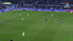 Gol de Jony (2-0) en el Alavés 2-0 Levante