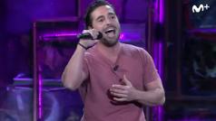 Bustamante canta 'Dos Hombres y un destino' en la 'La Resistencia' Broncano de batería