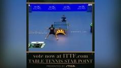 'Star Point': La jugada del año del tenis de mesa podría hablar español