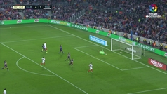 Gol de Muriel (4-2) en el Barcelona 4-2 Sevilla