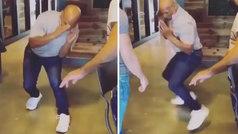 Clase magistral de Mike Tyson con 53 años: ¡se sigue moviendo como una centella!