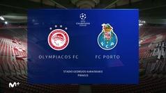 Champions League (Grupo C): Resumen y goles de Olympiacos 0-2 Oporto