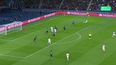 Gol de Icardi (1-0) en el PSG 1-0 Brujas
