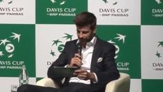 """Piqué explica su """"sueño"""" de una nueva copa Davis"""