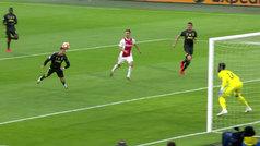 Gol de Cristiano Ronaldo (0-1) en el Ajax 1-1 Juventus