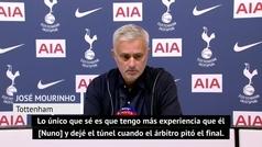 Mourinho explota y se va del campo: así explica su reacción