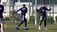 El Barça se prepara para la remontada en Copa
