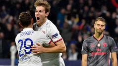Champions League (Grupo G): Resumen y goles del Lyon 3-1 Benfica