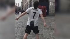 ¿Cómo convertir tu camiseta de Cristiano del Madrid a la Juventus?
