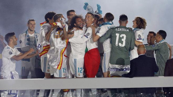 Los jugadores y todo el Bernabéu se dejaron la voz