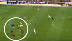 Mbappé solo necesita 5 minutos: velocidad endiablada y 'picada' espectacular