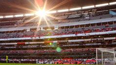El Estadio Azteca registra una pobre entrada en el duelo entre Cruz Azul y Santos