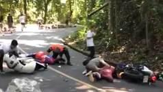 Muere el joven rider Allysson Pastrana al chocar contra una moto de la organización