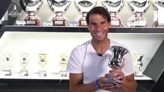 ?Hoy es un día especial por colocar este trofeo junto a los otros?