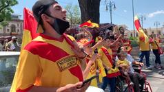 Aficionados de Monarcas Morelia protestan por la mudanza del equipo a Mazatlán