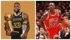 Terminada la NBA, LeBron ve The Last Dance