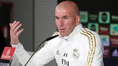 "Zidane: ""Creo que Bale puede ser decisivo otra vez, yo voy a contar con él"""
