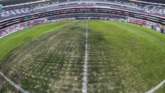 """Raúl Barrios: """"El panorama de la cancha del Azteca podría ser peor en las próximas"""""""