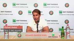 """Rafa Nadal: """"Las condiciones no me favorecen, pero eso no me quita la ilusión"""""""
