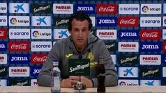 """Emery: """"La victoria supone darnos aire en la clasificación"""""""