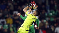 Copa del Rey (octavos, ida): Resumen del Betis 0-0 Real Sociedad