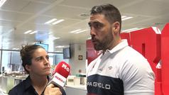 Jaime Nava y Patricia García, embajadores del rugby español