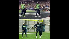 El baile viral de los Seahawks tras anotar un touchdown