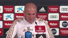 """La rara respuesta de Zidane: """"Ya verás mañana"""""""