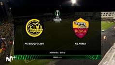 Conference League (J3): Resumen y goles del Bodo 6-1 Roma