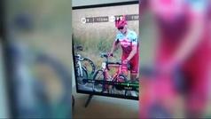 El polémico vídeo de la rueda loca