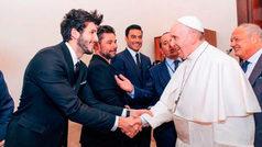 Carlos Rivera y Sebastián Yatra, embajadores del Papa Francisco