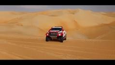 Así prepara Alonso las dunas 'a todo trapo'
