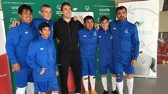Julen Lopetegui, orgulloso de ser Embajador Global de Special Olympics