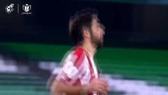 Así fue la tanda de penaltis en el Betis vs. Athletic