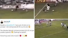 Futre reta a Joao Félix recordando su alucinante golazo en un debut liguero hace 30 años