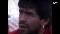 """""""Maradona era Maradona"""", así eran las noches con el pelusa en Sevilla según uno de sus capitanes"""