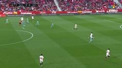 Gol de Ben Yedder (4-0) en el Sevilla 5-0 Rayo Vallecano