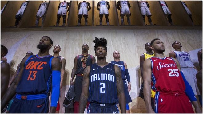 petróleo crudo Incorrecto De Verdad  NBA: Nike desvela la nueva piel de la NBA   Marca.com