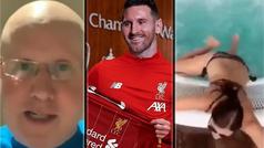 José Enrique ficha a Messi para el Liverpool y nos descubre la canción más pegadiza de la cuarentena