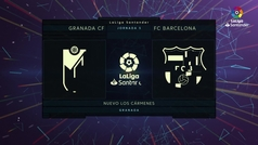 MX: LaLiga (J5): Resumen y goles del Granada 2-0 Barcelona