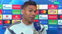 """Casemiro: """"¿Balón de Oro para Modric? Yo se lo daría a Cristiano Ronaldo"""""""