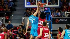 Liga ACB. Resumen Zaragoza 91-85 Estudiantes