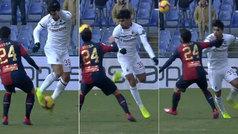 El alumno supera al maestro: impresionante lambretta a lo Neymar de Paquetá