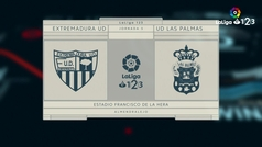 LaLiga 123 (J5): Resumen y goles del Extremadura 1-2 Las Palmas