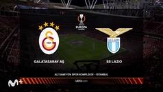 Europa League (J1): Resumen y goles del Galatasaray  1-0 Lazio