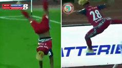 Así fue el primer gol del 'joven' Gourav Mukhi en la Superliga india