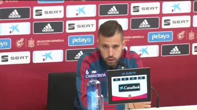 La Juve estaría interesada en Jordi Alba
