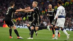 Champions League (semis, ida): Resumen y gol del Tottenham 0-1 Ajax