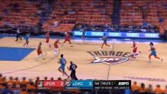 Westbrook recupera el modo 'killer' para seguir vivo en los Playoffs